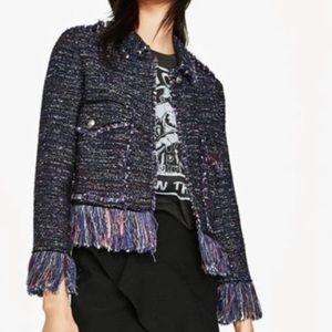 Tweed Blazer by ZARA